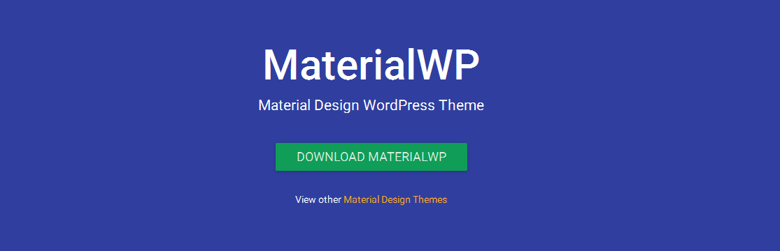 Free Material Design WordPress Themes